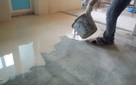 Способы выравнивания бетонного пола своими руками