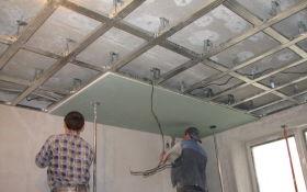 Изготовление и монтаж подвесного потолка своими руками