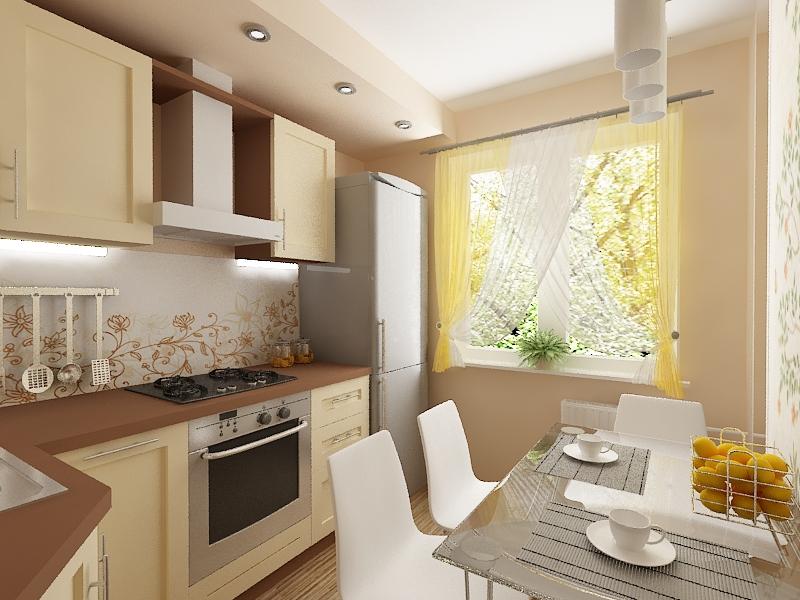 Ремонт на кухне в хрущевке дизайн