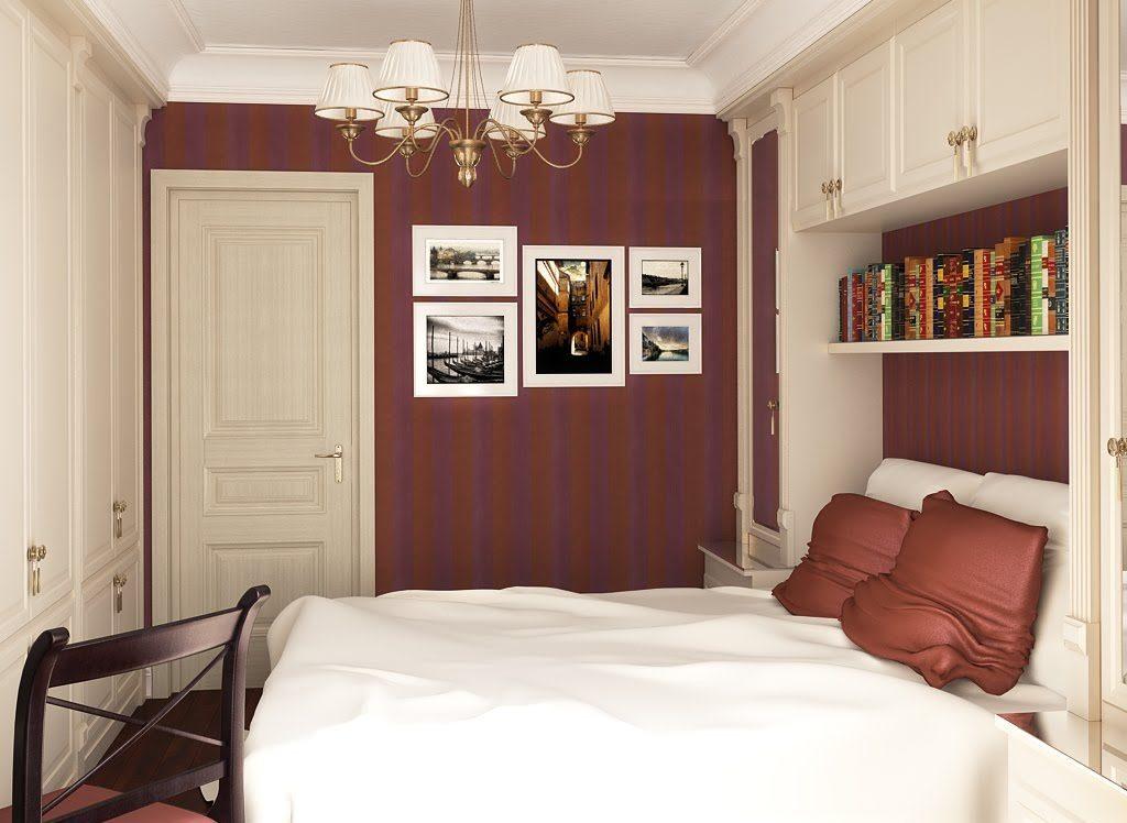 9 метров спальня дизайн