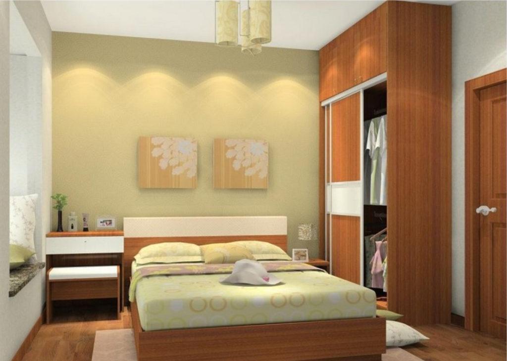 Простые дизайны спальной комнаты