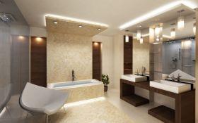 Как организовать освещение в ванной комнате