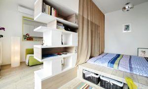 Зонирование — метод благоустройства спальни