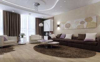 Самые известные тенденции дизайна и интерьера гостиной комнаты
