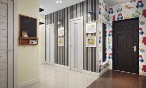 Выбор обоев для прихожей и коридора в квартире