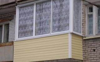 Как правильно обшить балкон или лоджию сайдингом