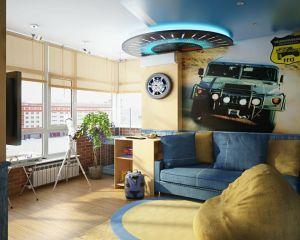 Выбор потолка для детской комнаты