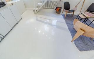 Как сделать самому наливной пол в квартире