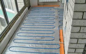 Особенности монтажа теплого пола на балконе
