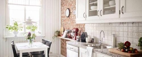 Основные виды отделки и идеи оформление стен на кухне