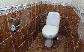 Варианты современной отделки туалета
