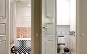 Какие нюансы учесть при выборе дверей для ванной и туалета