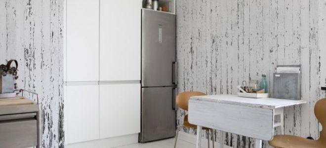 Дизайнерские трюки при выборе обоев для кухни