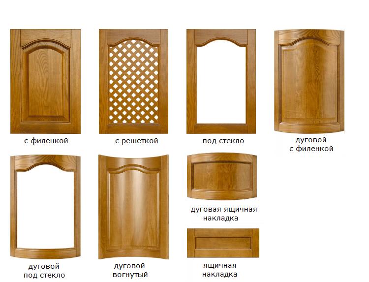 Фасады для классической кухни