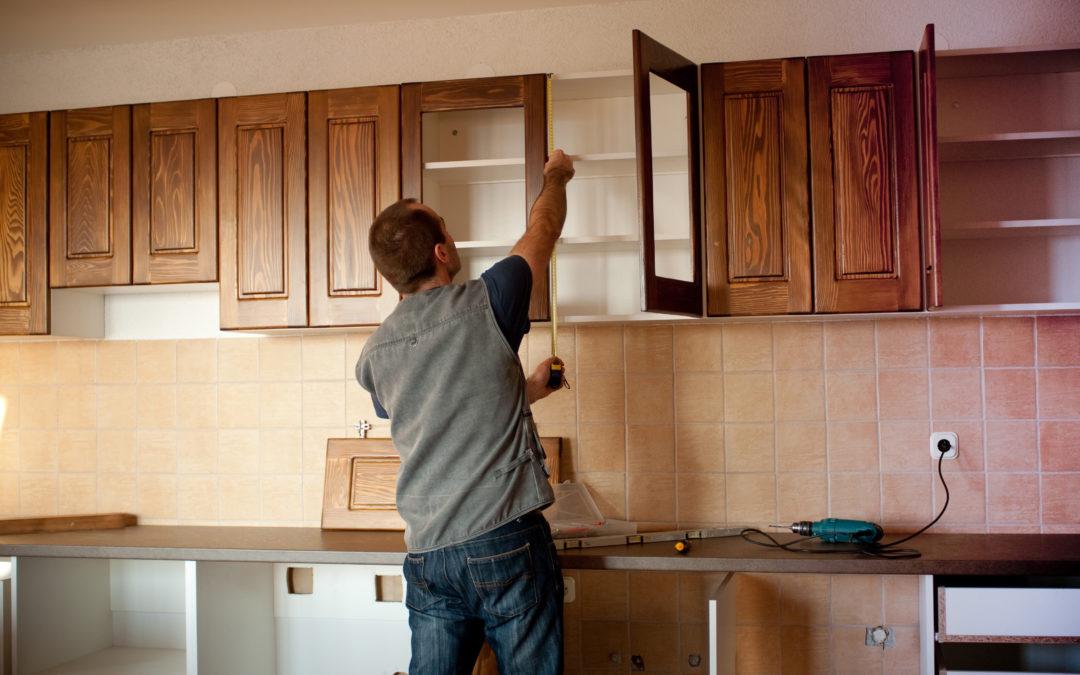 Ремонт на кухне самостоятельно