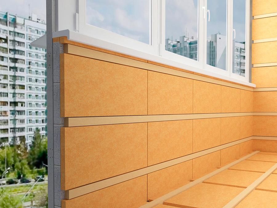 Способы утепления балкона и лоджии своими силами.