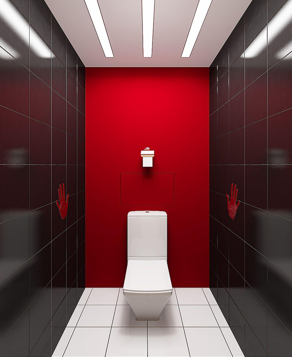 Цветовое оформление туалета