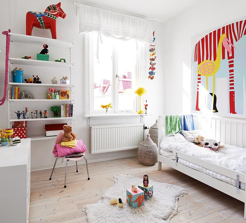 Дизайн классической комнаты для девочки