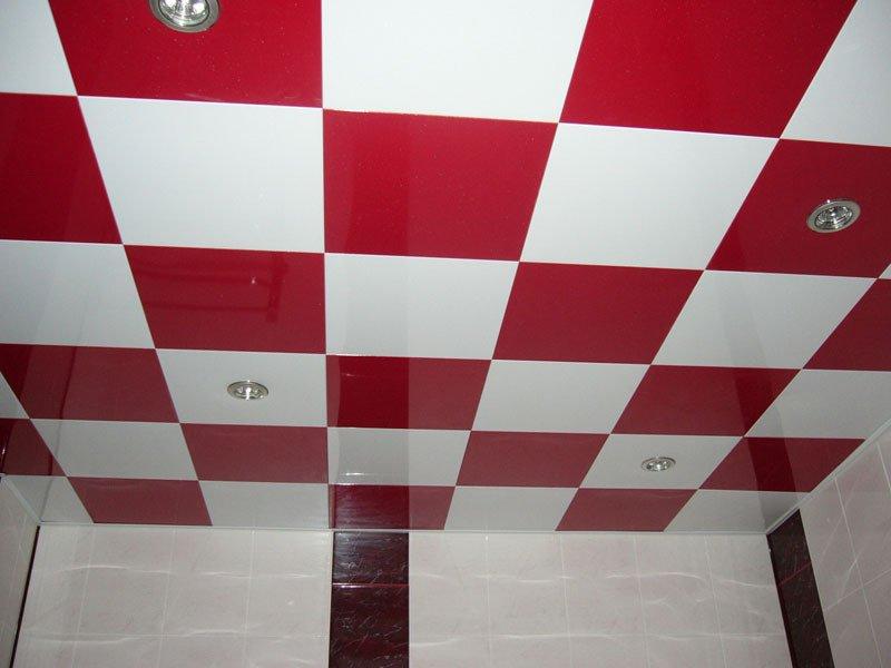 Кассетный потолок в детской