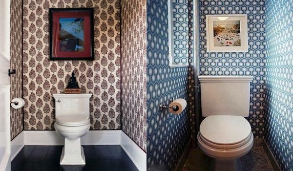 Обои для туалета