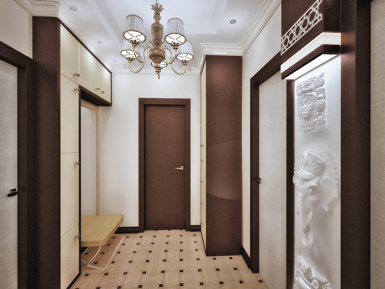 Ремонт маленького коридора
