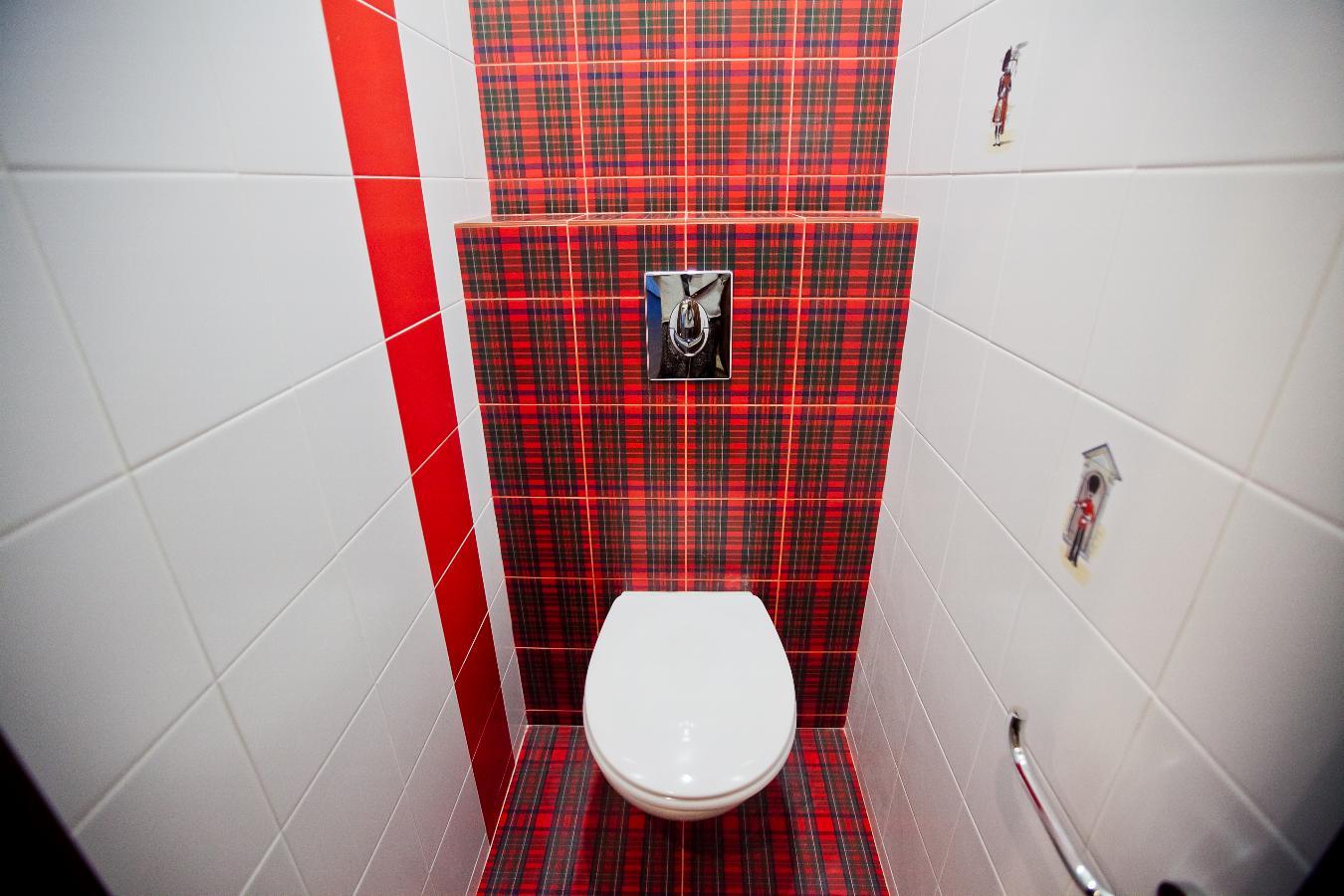 Современный ремонт в туалете