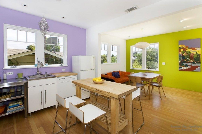 Стены на кухне отделка