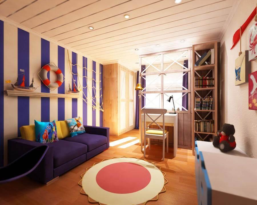 Комната для мальчика 7 лет