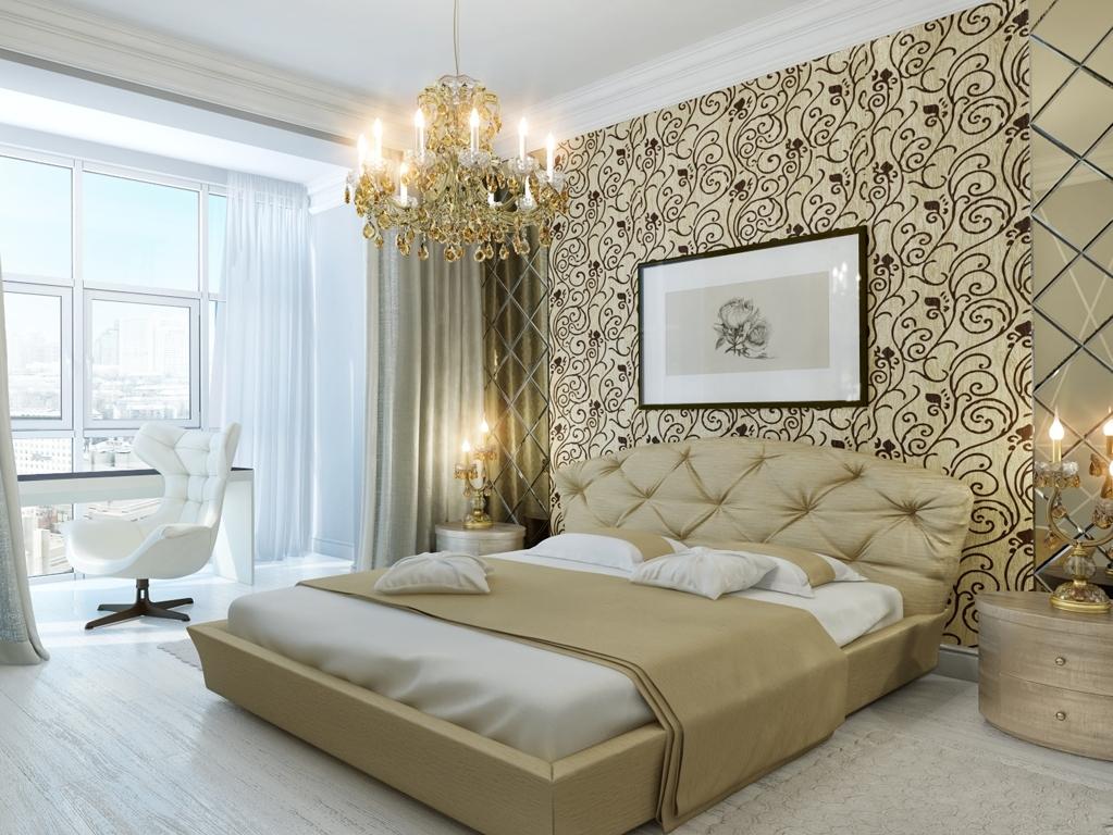 Расположение кровати в спальне по фен-шуй