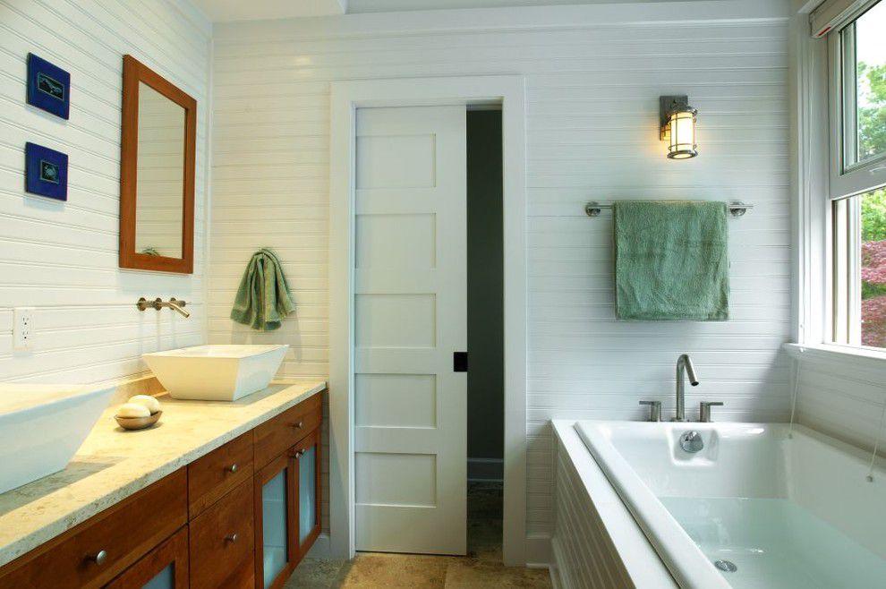 Раздвижная дверь для ванной