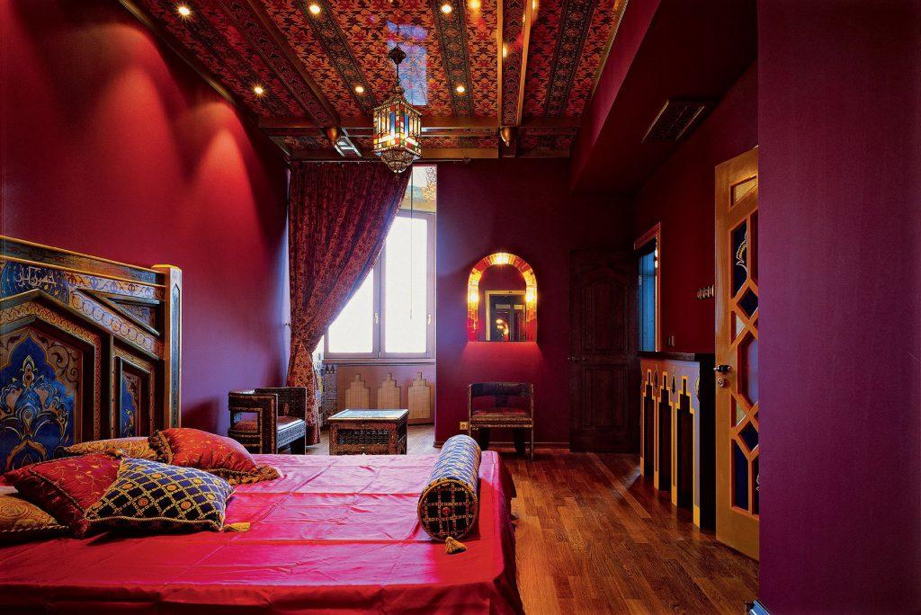 Светильники в восточном стиле для спальни