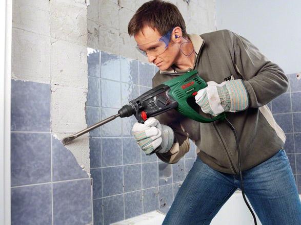 Подготовка туалета к ремонту