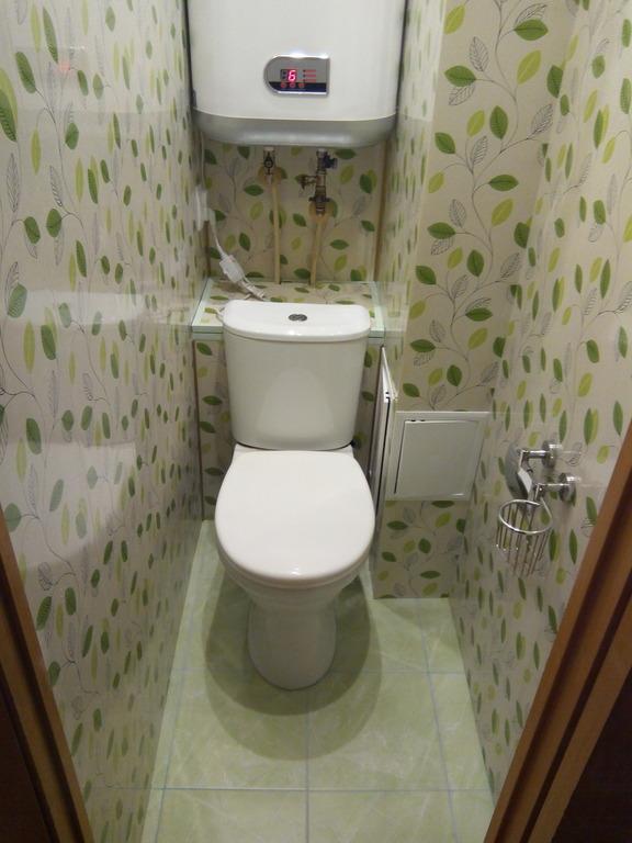 Пвх панели на стенах туалета