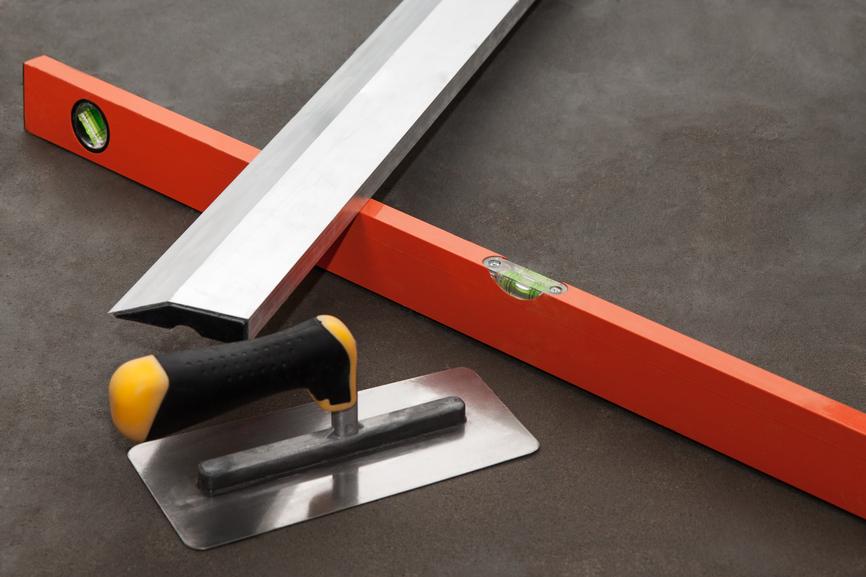 Инструменты для укладки стяжки