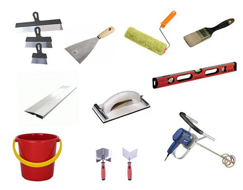 Набор инструментов для шпаклевки