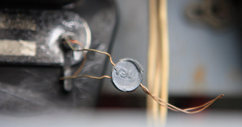 Пломба на электросчетчике
