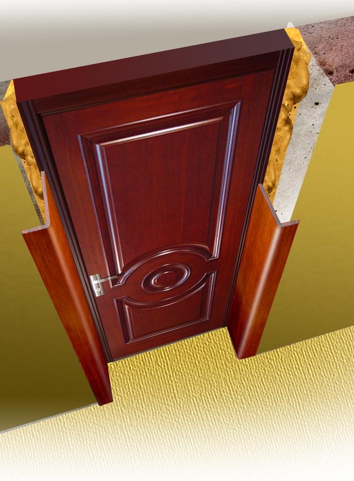 Применение утеплителя в откосах двери
