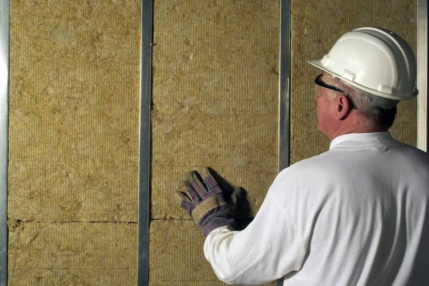Шумоизоляция стен с помощью минваты