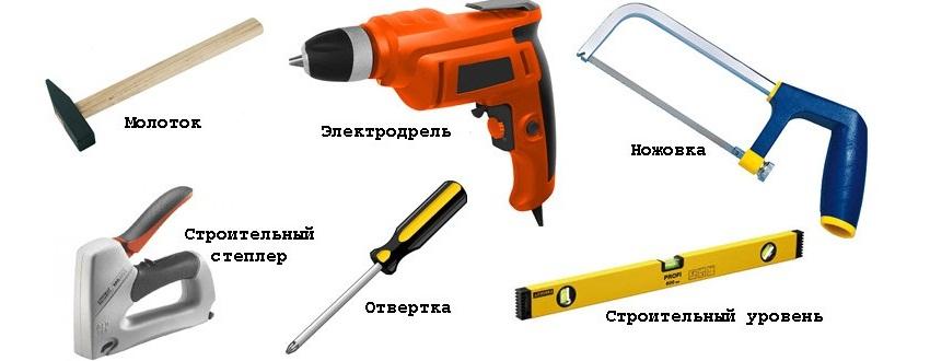 Инструменты для монтажа пластиковых панелей