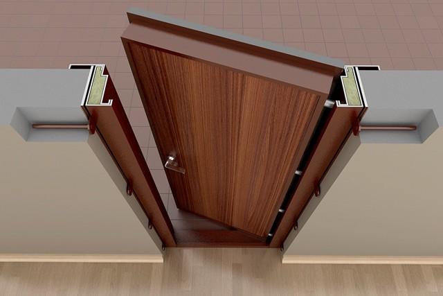 Установленная стальная дверь