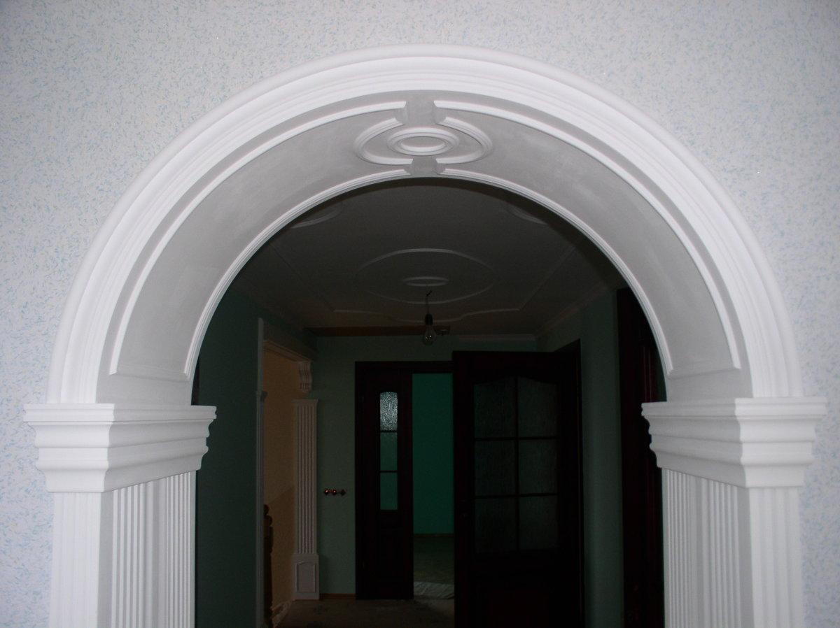 Гипсовая арка