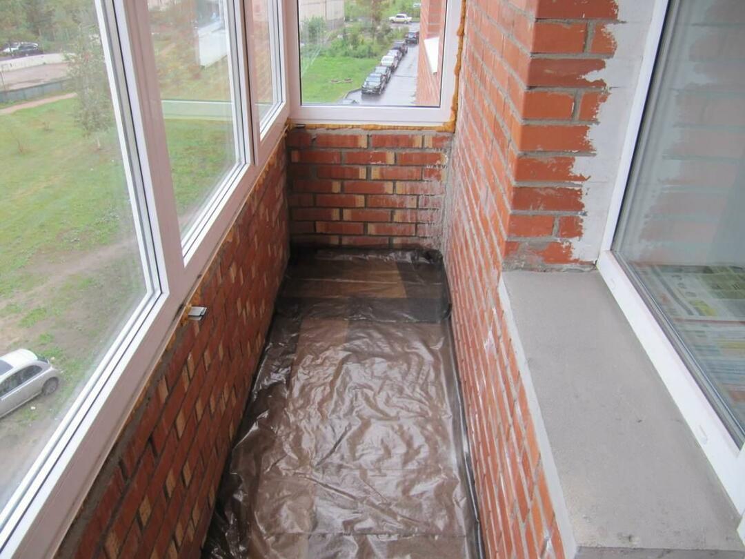 Реставрация балкона