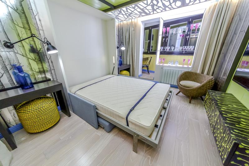 Мебель-трансформер в спальне
