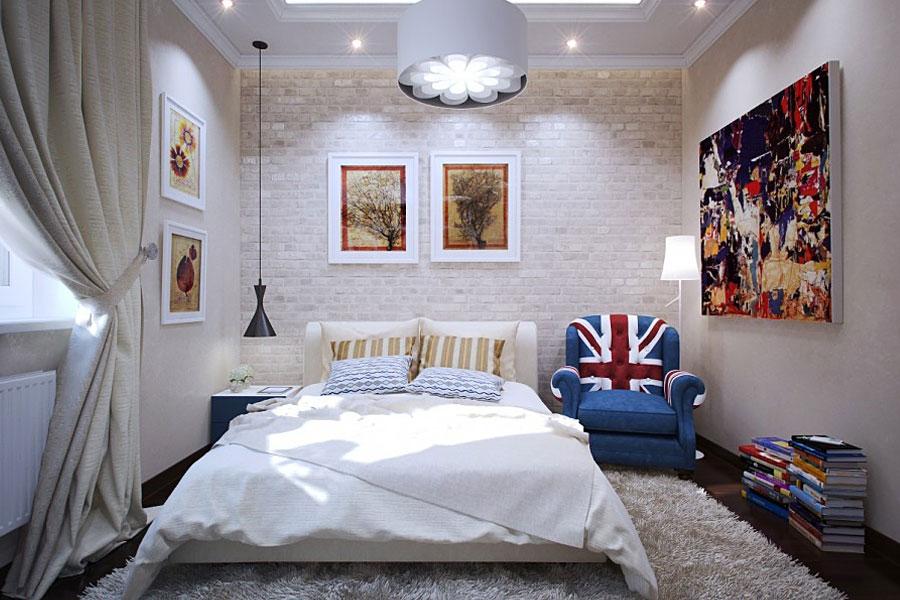 Организация интерьера в спальне