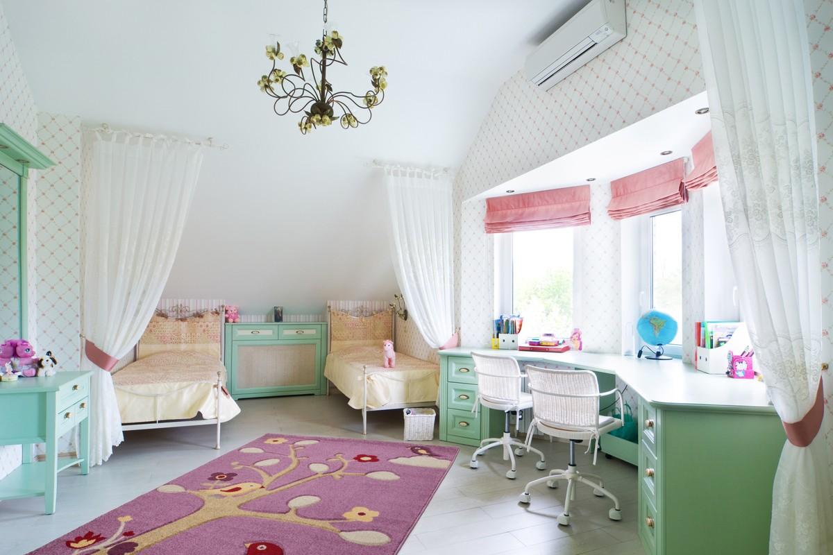 Оформление комнаты для мальчика и девочки