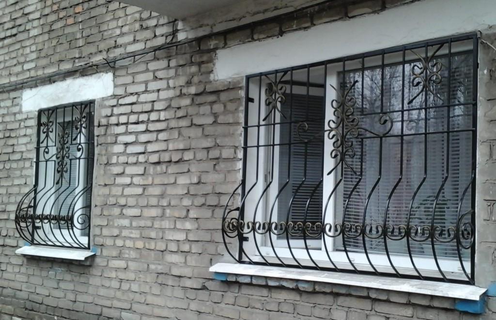 Металлические конструкции для окон
