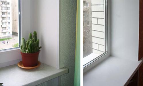 Пластиковые откосы на окнах