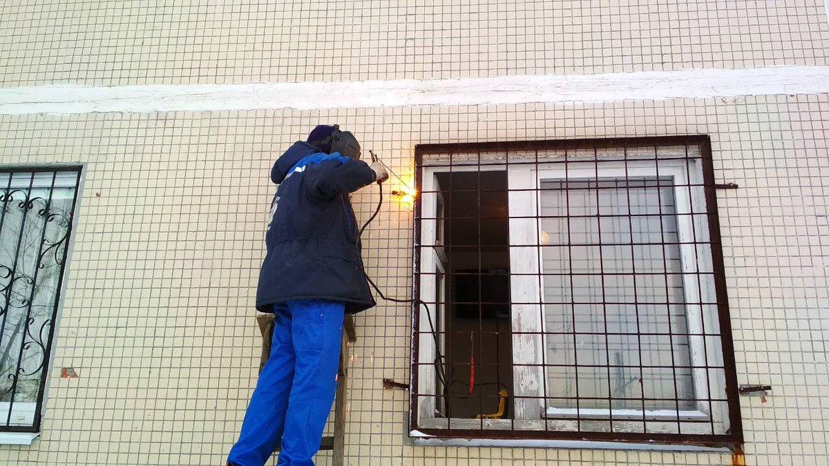 Сварка решеток на окна