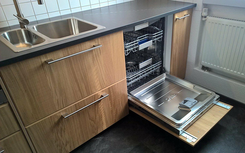 Встраивание посудомойки в шкаф