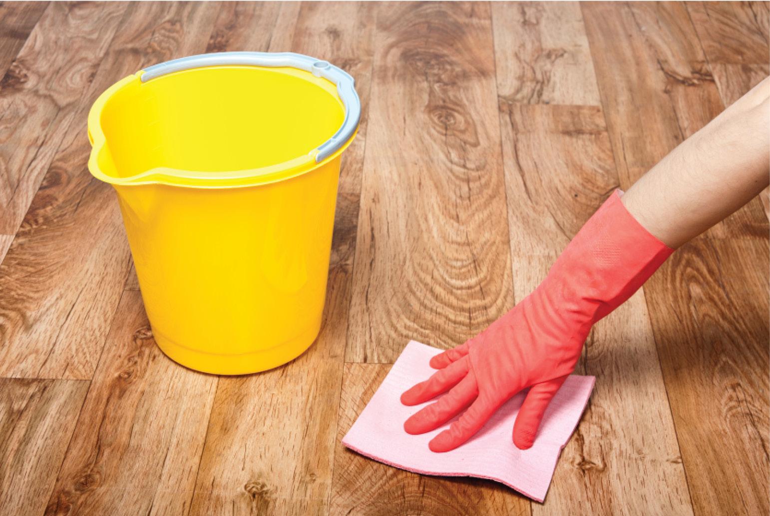 Как отмыть ламинат после ремонта